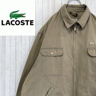 ラコステ(LACOSTE)のラコステ ジップアップジャケット ワーク ワンポイントロゴ ビッグサイズ(ブルゾン)
