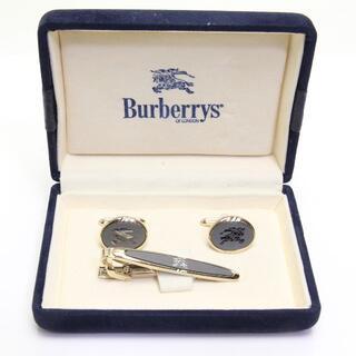 バーバリー(BURBERRY)の美品 バーバリー カフス タイピン セット ゴールド 騎士 ナイト (カフリンクス)
