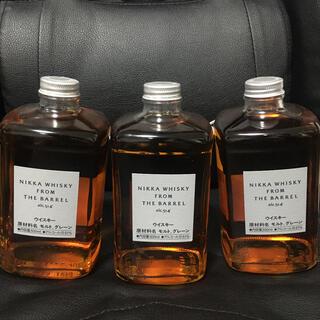 ニッカウイスキー(ニッカウヰスキー)の3本 ニッカバレル(ウイスキー)