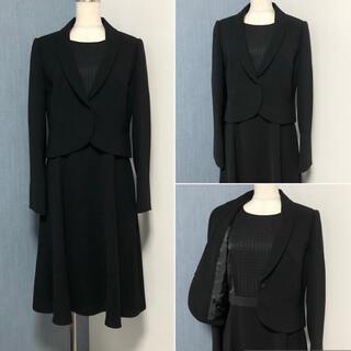 ソワール(SOIR)の東京ソワール×INDIVI ブラックフォーマル アンサンブルスーツ(礼服/喪服)