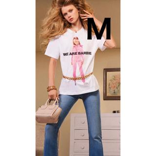 ザラ(ZARA)のZARA 人気 BARBIE バービー Tシャツ Mサイズ 新品未使用(Tシャツ(半袖/袖なし))