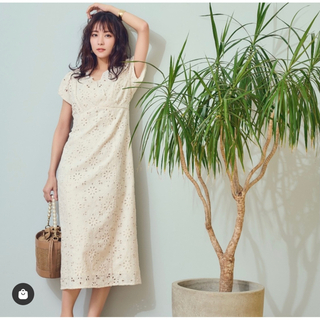 Noela - Noela ノエラ コットン刺繍ワンピ お値下げ