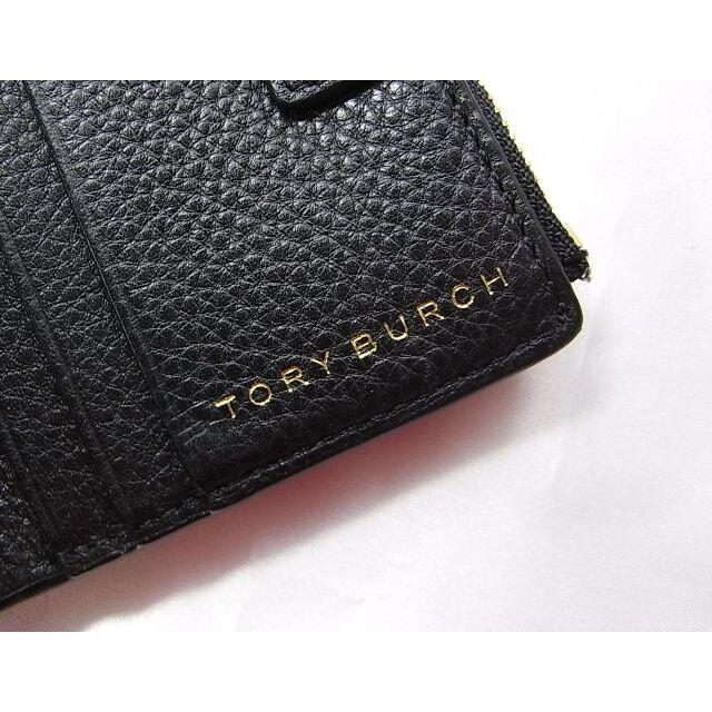 Tory Burch(トリーバーチ)の★本物正規極美品 トリーバーチ レザー2つ折り財布ユニ レディースのファッション小物(財布)の商品写真