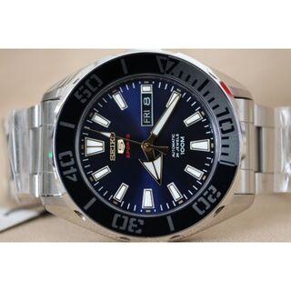 セイコー(SEIKO)のセイコー5スポーツブルーダイヤル100m防水(腕時計(アナログ))
