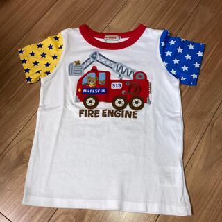mikihouse - ミキハウス 働く車 豪華Tシャツ 100