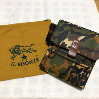IL BISONTE - 希少 IL BISONTE(イルビゾンテ)ショルダーバッグ 迷彩 カモフラ 新品