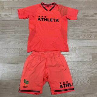 アスレタ(ATHLETA)のathleta アスレタ 上下セット セットアップ サッカー 140 150(Tシャツ/カットソー)