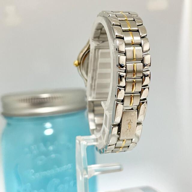 Saint Laurent(サンローラン)の92 イヴサンローラン時計 レディース腕時計 ブラック文字盤 アンティーク 人気 レディースのファッション小物(腕時計)の商品写真