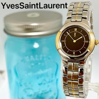 Saint Laurent - 92 イヴサンローラン時計 レディース腕時計 ブラック文字盤 アンティーク 人気