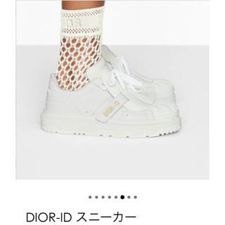 Christian Dior - ディオールDiorスニーカー 2021年新作 美品 梅田阪急購入の品