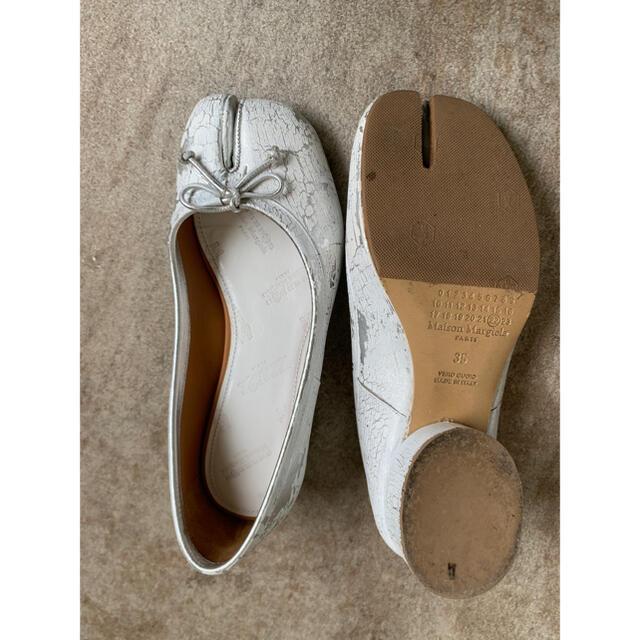 Maison Martin Margiela(マルタンマルジェラ)のマルジェラ タビ ペンキ パンプス 35  レディースの靴/シューズ(ハイヒール/パンプス)の商品写真
