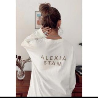ALEXIA STAM - ALEXIA STAMBack Logo Long Sleeve Tee