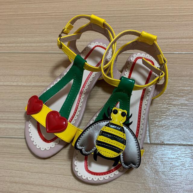 サンダル キッズ/ベビー/マタニティのベビー靴/シューズ(~14cm)(サンダル)の商品写真