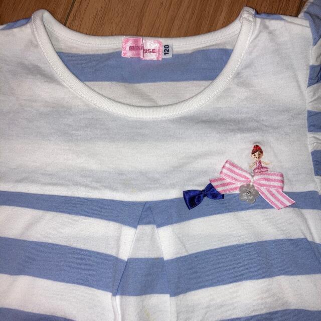 mikihouse(ミキハウス)の専用 ミキハウス リーナちゃん ジルスチュアート 120 キッズ/ベビー/マタニティのキッズ服女の子用(90cm~)(Tシャツ/カットソー)の商品写真