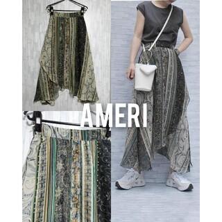 Ameri VINTAGE - AMERI ameri vintage パネル スカート アシンメトリー