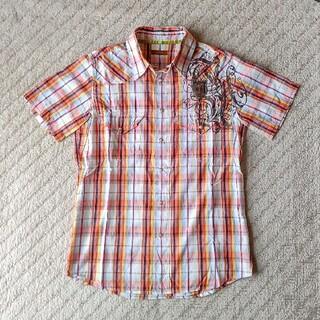 ニーキュウイチニーキュウゴーオム(291295=HOMME)の291295=HOMME  刺繍ウエスタンチェックシャツ(シャツ)