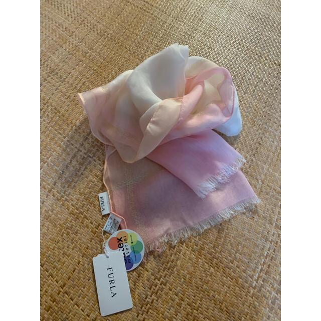 Furla(フルラ)のフルラスカーフ新品 レディースのファッション小物(バンダナ/スカーフ)の商品写真