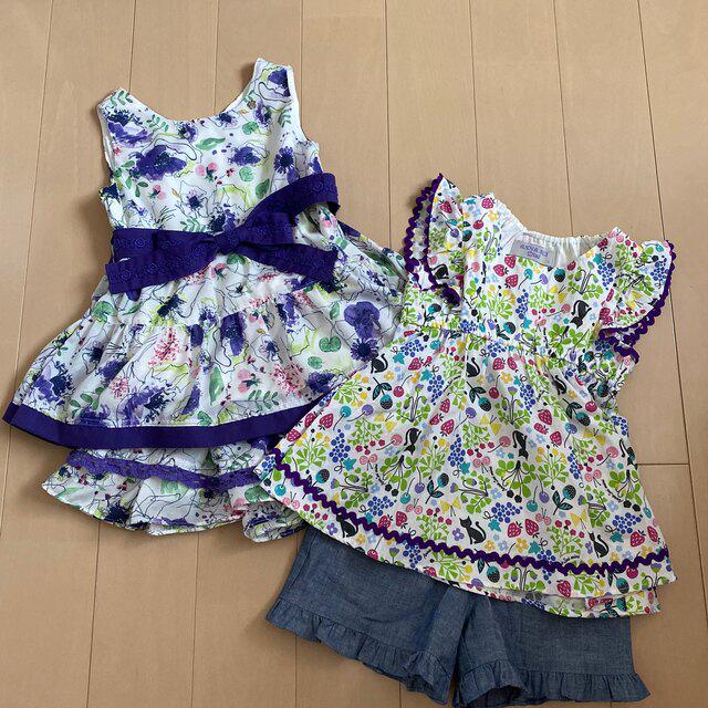 【ご専用】ANNA SUImini110【極美品】♡2点♡ キッズ/ベビー/マタニティのキッズ服女の子用(90cm~)(Tシャツ/カットソー)の商品写真