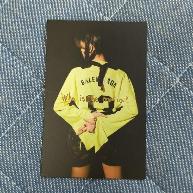 Itzy guess who ユナトレカ 1枚 エンタメ/ホビーのCD(K-POP/アジア)の商品写真