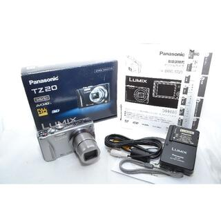 パナソニック(Panasonic)の★動作絶好調★ Panasonic DMC-TZ20 シルバー(コンパクトデジタルカメラ)