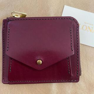 ヘルツ(HERZ)のLONA box mini wallet 限定 ワイン herz(財布)