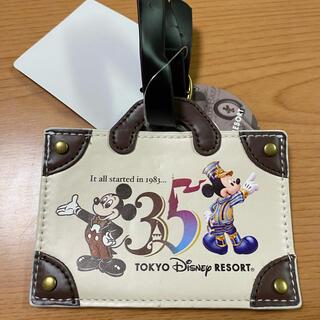 ディズニー(Disney)のディズニー 35周年パスケース(パスケース/IDカードホルダー)