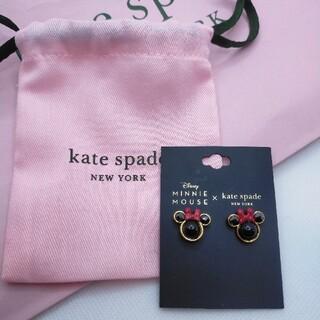 ケイトスペードニューヨーク(kate spade new york)の【新品未使用】ケイトスペード ミニーマウス  ピアス  ディズニー(ピアス)