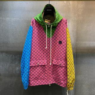 Gucci - 【 Gucci 】GG マルチカラー キャンバス ジップジャケット