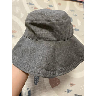 芦屋ロサブラン プレーンハット 帽子 Sサイズ グレー