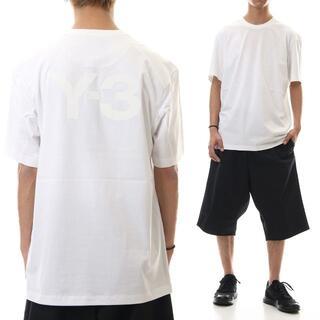 Y-3 - 1 Y-3 ワイスリー バックロゴ Tシャツ ホワイト size M