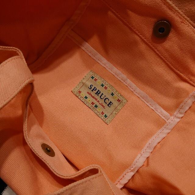 SPRUCE プリントトートバッグ(うさぎ) レディースのバッグ(トートバッグ)の商品写真