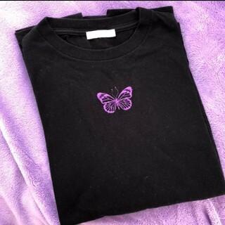 ウィゴー(WEGO)のバタフライ ロンT(Tシャツ(長袖/七分))