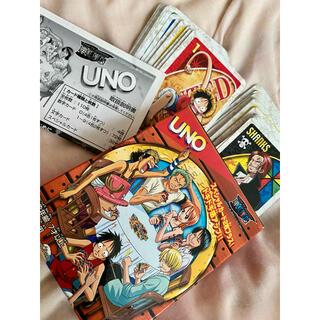バンダイ(BANDAI)のワンピース カードゲーム UNO(トランプ/UNO)