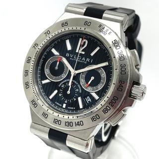 ブルガリ(BVLGARI)のブルガリ DP42SCH ディアゴノ プロフェッショナル クロノグラフ 腕時計(腕時計(アナログ))