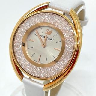 SWAROVSKI - スワロフスキー 5158544 クリスタルライン オーバル レディース腕時計