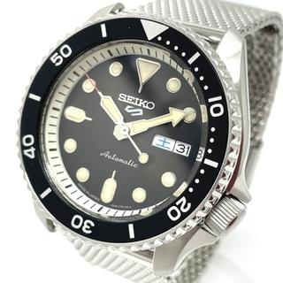 セイコー(SEIKO)のセイコー SBSA019 デイデイト 5スポーツ メンズ腕時計 シルバー(腕時計(アナログ))