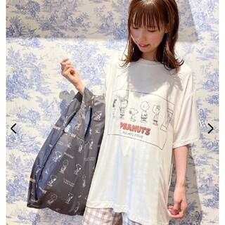 gelato pique - 【PEANUTS】HOMME ワンポイントTシャツ&ハーフパンツ