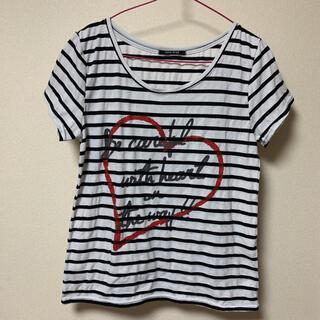 ワンウェイ(one*way)のTシャツ  ワンウェイ カットソー(Tシャツ(半袖/袖なし))