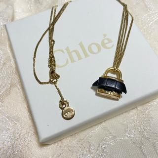 クロエ(Chloe)の正規品 Chloe クロエ ネックレス ゴールド 鍵 カギ リボン (ネックレス)