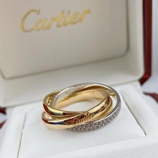 Cartier - カルティエ トリニティリング k18 8美品