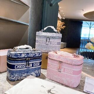 ディオール(Dior)のCHRISTIAN DIOR 超美品 化粧ポーチ(ウッドベース)