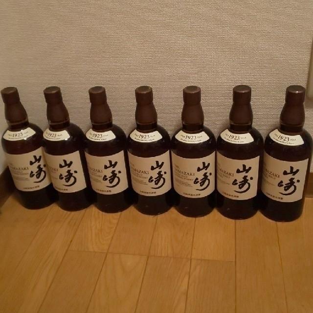 サントリー(サントリー)のサントリー山崎7本。 食品/飲料/酒の酒(ウイスキー)の商品写真