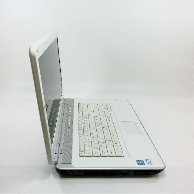 NEC(エヌイーシー)の美品★初心者歓迎★テレワークWindows10白ノートパソコン本体 スマホ/家電/カメラのPC/タブレット(ノートPC)の商品写真
