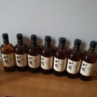 ニッカウイスキー(ニッカウヰスキー)のアサヒ竹鶴、7本。(ウイスキー)