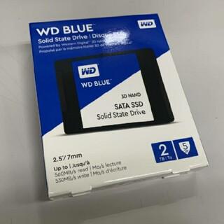 ウエスタンエディション(Western Edition)のWestern Digital SSD 2TB WD Blue 未開封(PCパーツ)