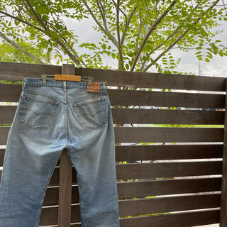 Levi's - levis 501 MADE IN USA W38 L36 ダメージデニム