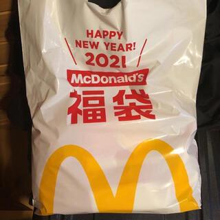 マクドナルド(マクドナルド)のマクドナルド 2021年 福袋 トートバッグ ポーチ マグカップ ポテトクロック(ノベルティグッズ)