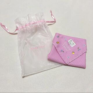 プライベートレーベル(PRIVATE LABEL)のプライベート レーベル ハンカチ 茶巾 セット ピンク 新品(ハンカチ)
