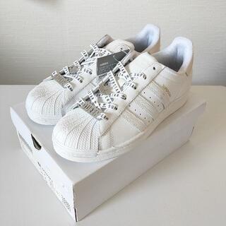 アディダス(adidas)の24.5cm adidas スーパースター FV3392 天然皮革(スニーカー)
