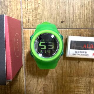 セイコー(SEIKO)のSEIKO ALBA 『VOLCANO(ボルケーノ)』腕時計(腕時計(デジタル))